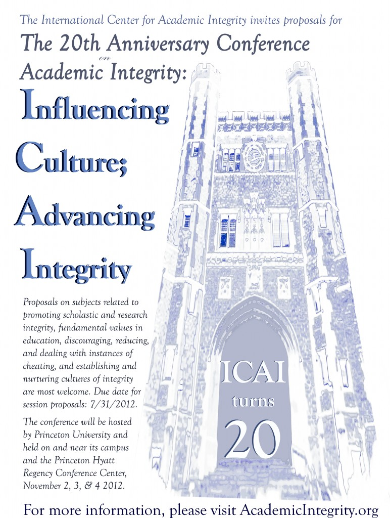 International Center for Academic Integrity's 20th Anniversary Conference