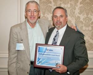 Dr. Mark Sarver Receives NUTN 2012 Institutional Achievement Award  for eduKan