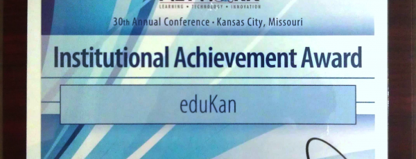 NUTN 2012 Institutional Achievement Award