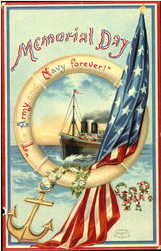 """Ellen Clapsaddle """"The Army and Navy Forever!"""""""