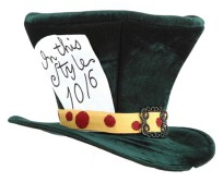Classic Mad Hatter Style Hat