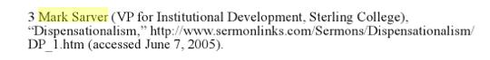 """Dispensationalism"""